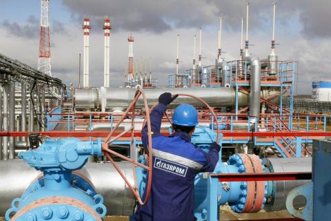 «Газпром» ставит новые рекорды