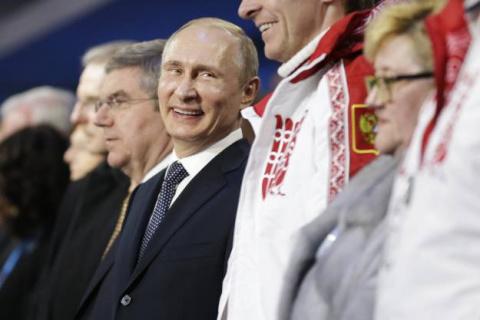 Выставьте Россию из мира спорта