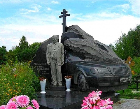 Надгробия русского криминала