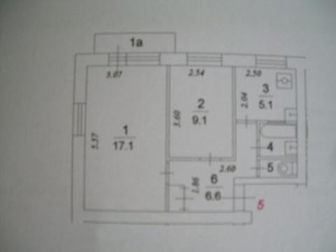 2-х комнатной хрущевки
