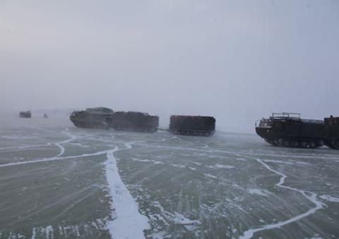 В Арктике начались испытания…