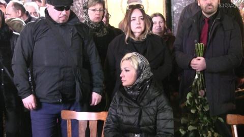 Пономарев на похоронах Ворон…