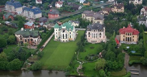 Сколько стоят дома на Рублевке