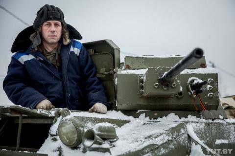 Домашний Т-60: как белорус собрал собственный танк