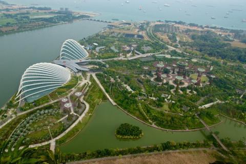 Парк «Сад у Залива» в Сингап…
