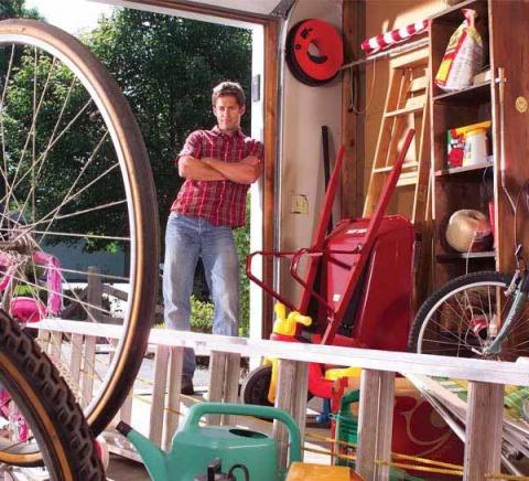 Наводим порядок в гараже: 30 полезных советов