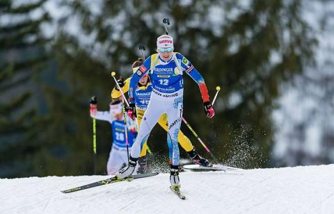 Финка Мякяряйнен выиграла масс-старт на Кубке мира по биатлону в Рупольдинге