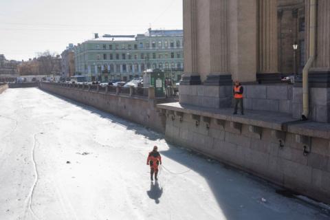 Волонтеры-спасатели Петербур…