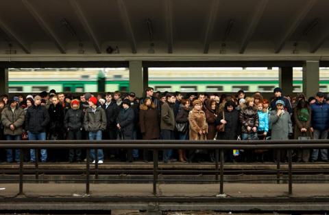 В московском метро погиб чел…