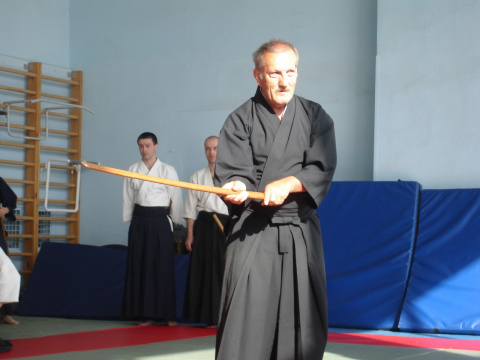 семинар по кендзюцу под руководством Паскаля Кригера