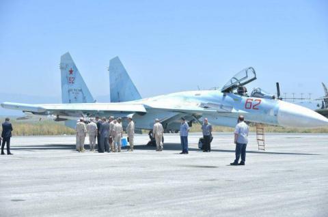 Истребители Су-27СМ3 с новей…