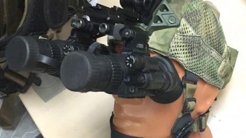Русский спецназ одели в умные ночные шапочки