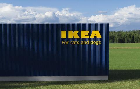ИКЕА создала мебель для котиков и собачек