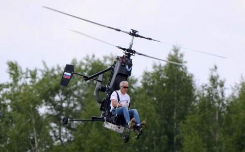 В России испытали миниатюрный персональный вертолет