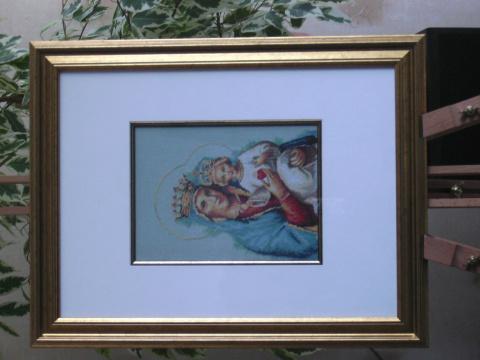 Пресвятая Дева Мария с Иисусом