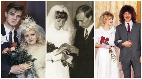 Редкие свадебные фотографии …