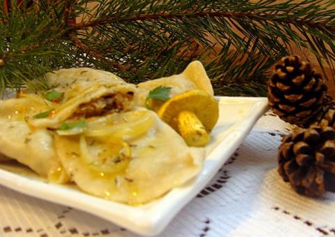 Рецепты по четвергам. Клёцки, ньокки, галушки, вареники. Рождественские вареники