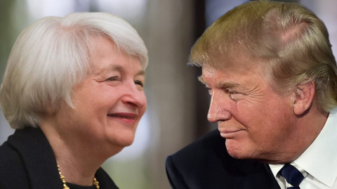 Трамп и Йеллен разошлись во …