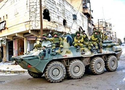 Военная полиция РФ вошла в И…