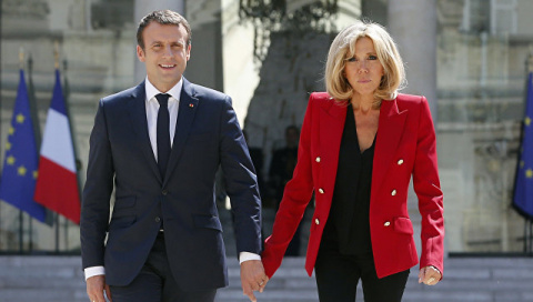 Первая леди — не за наш счет: почему французы не любят жену Макрона