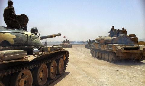 Линия фронта проходит через Алеппо