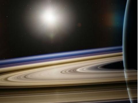 В кольцах Сатурна обнаружен …