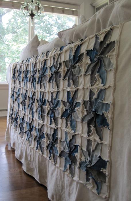 """Как сшить великолепное покрывало – одеяло """"Индиго"""" в технике """"пэчворк"""""""
