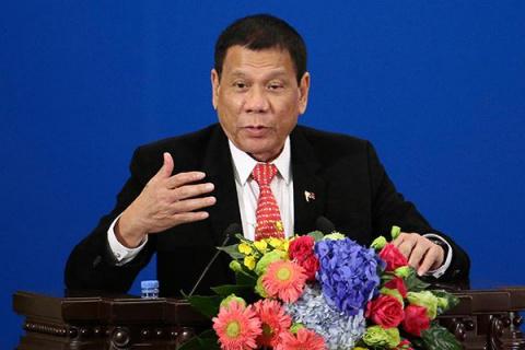 Президент Филиппин выполнил …