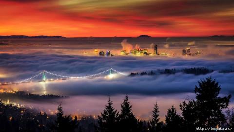 Города в тумане