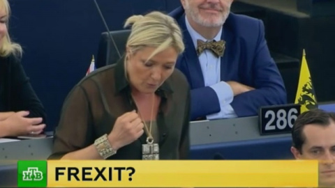 Марин Ле Пен бросила вызов ЕС
