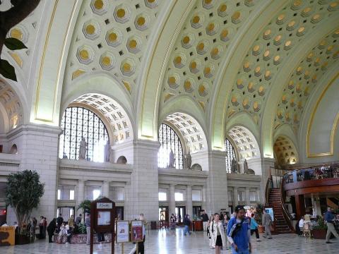 Главный вокзал Вашингтона эв…