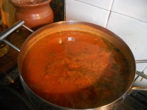 Очень постный суп.