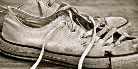 Изношенная обувь — индикатор кризиса
