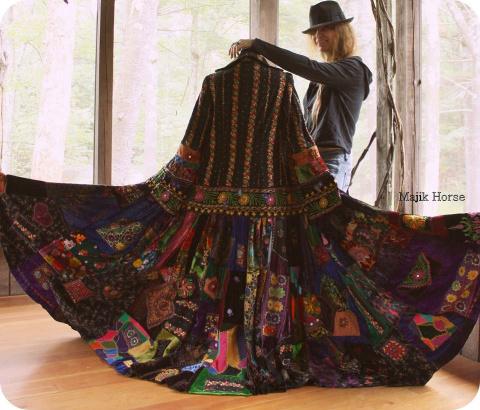 Территория бохо: одежда и аксессуары ручной работы от MajikHorse