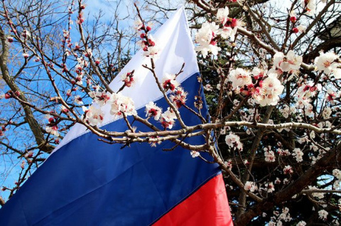 Весна в этом году опять русская