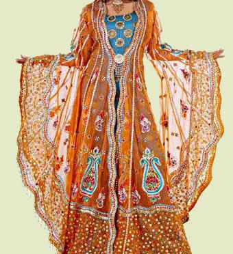 Арабская вышивка или восточная гладь
