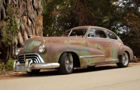 """""""Изгой"""" - Впечатляющий проект из старенького Oldsmobile 1946 года"""