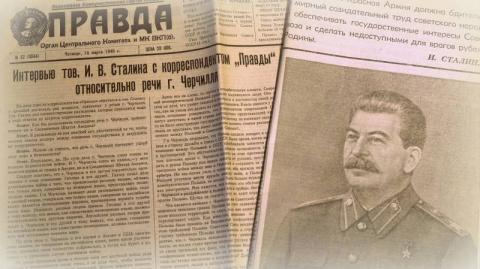 Интервью тов. И.В. Сталина