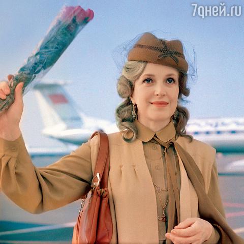 Клара Лучко боялась самолето…