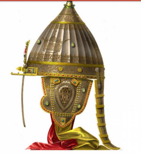 Почему на шлеме Александра Невского былы выгравированы слова из Корана