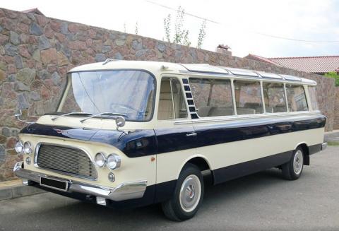 """ЗИЛ-118 """"Юность"""" микроавтобус представительского класса"""