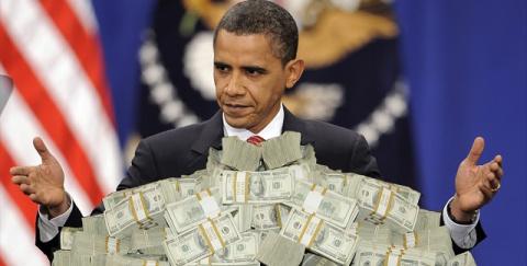 Обама разогнал госдолг США в…