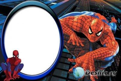 Раскраски человек паук увеличить