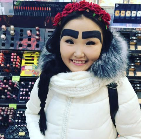 У якутской модницы появилось почти 32 тысячи фанатов