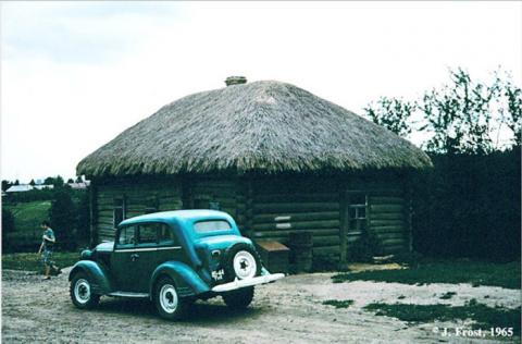 Колоритные фотографии Джесса Фроста из путешествия по Советскому Союзу в 1965 году