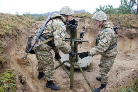 Украинский миномет «Молот» продолжает убивать своих наводчиков