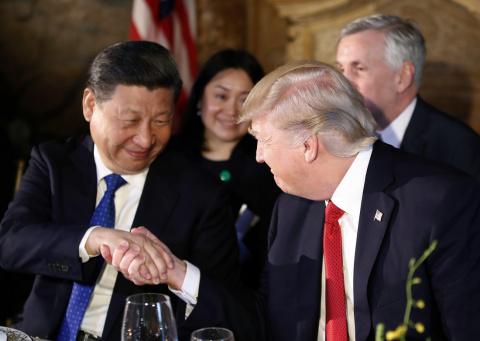 Внимание! Пока бомбили Сирию зародилась американо-китайская дружба