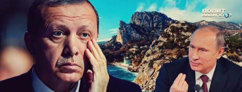 """Эрдоган объявит """"в лицо"""" Пут…"""