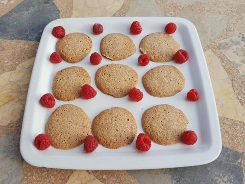 Готовим тонкое миндальное печенье
