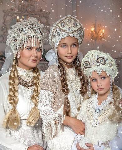 Как вам русский стиль семейн…